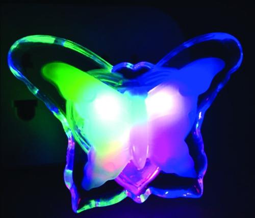 luz de noche led veladorcito enchufe bajo consumo - subte a