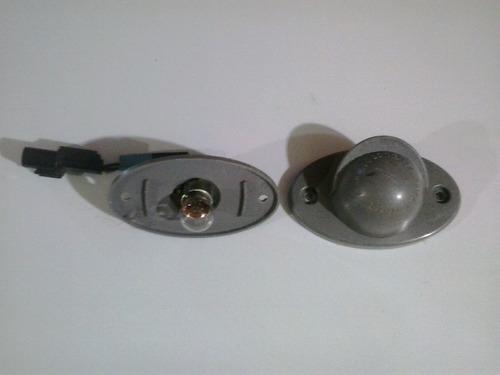 luz de placa original 24v mitsubishi canter (usado)