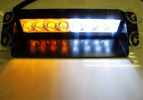 luz de policía bomberos para carros baliza led strobe