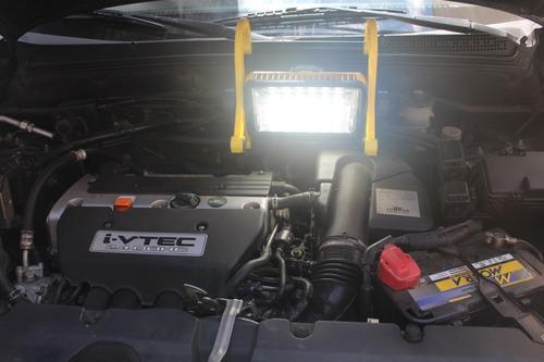 luz de trabajo 12leds 1260 lum regulable 18v 4000mah barovo