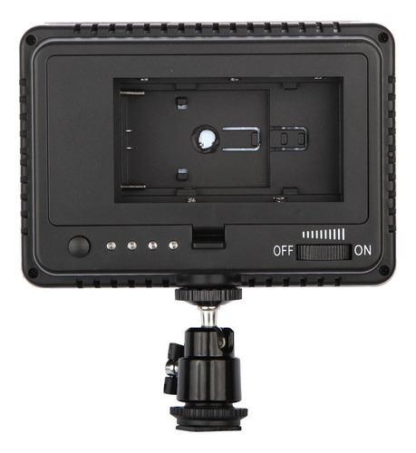 luz de video led para disparar grabar cubierta de caucho