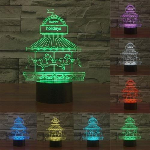 luz decorativa iluminacion novedad parque atraccion 7 color