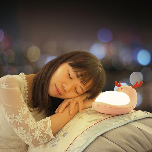 luz decorativa nocturna youoklight yk2255 creativo rosa