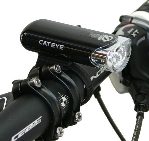 luz delantera cateye hl-el135 - racer bikes
