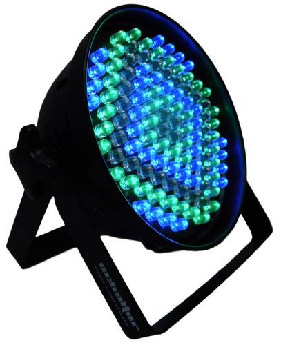 luz disc estroboscopica led multicolor control de velocidad*
