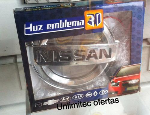 luz emblema 3d logos de marcas de autos lujosos tunning kia