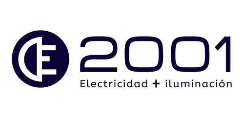 luz emergencia 30 leds recargable 220v etheos bateria lithio