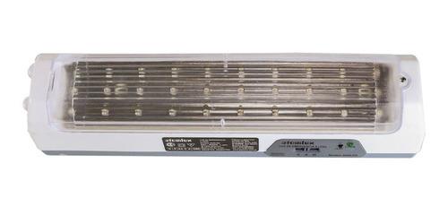 luz emergencia atomlux 2028 30 leds 24hs autonomia gtia ofic