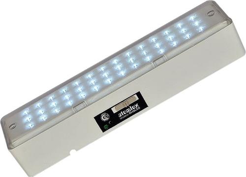 luz emergencia atomlux mod. 2045 - 42 leds - bateria - royal