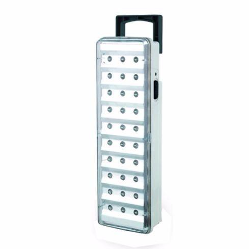 luz emergencia portatíl 30 led