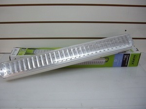 luz emergencia sonex 60 leds (2intensid 18h 1 año gtia local