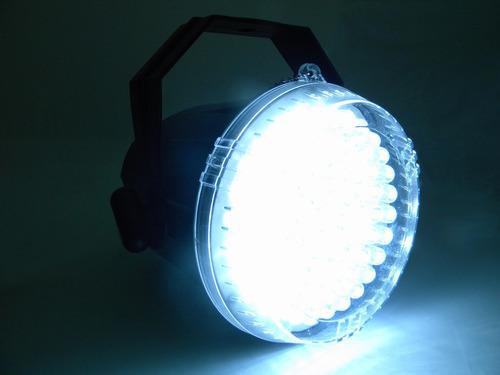 luz estroboscopica cañon 62 led hyper rgb