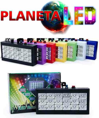luz flash led multicolor -ideal bar- discoteca- eventos
