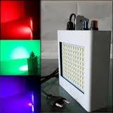luz flash multicolor108 led audioritmica fiestas y discoteca