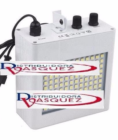 luz flash potente 108 leds 5050 discoteca audioritmica