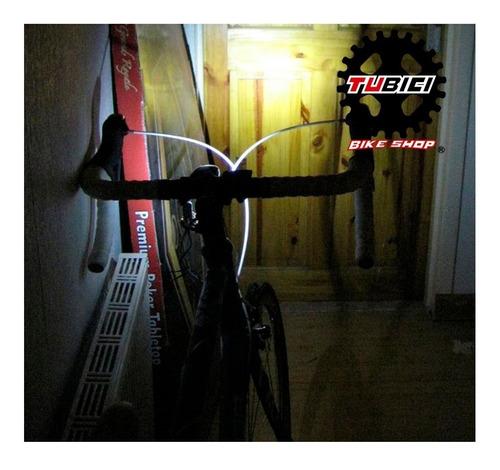 luz gw delantera recargable usb bicicleta