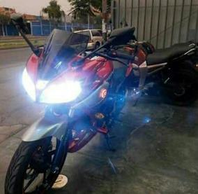 Luz Hid Para Moto, H4 Altas Y Bajas Motorizada 8000k
