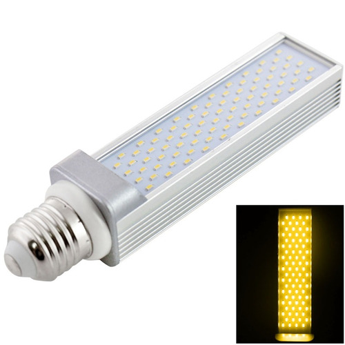 luz horizontal plug bulbo led lm blanca caliente 5