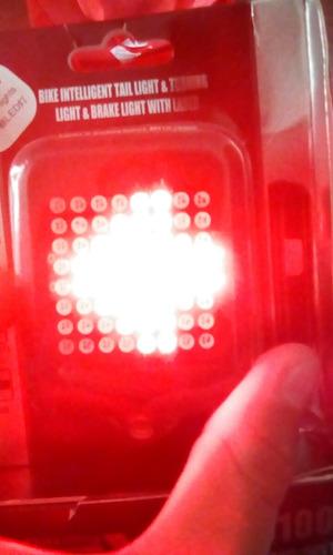 luz inteligente bici sensor frenado y señal