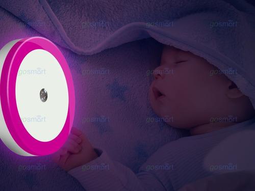luz lámpara noche nocturna regalo niño bebé habitación