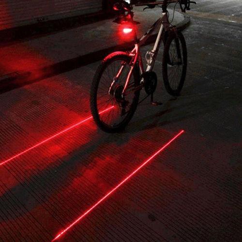 c818695c0 Luz Láser De Rayas Advertencia Motocicleta Bicicleta - $ 100.00 en ...