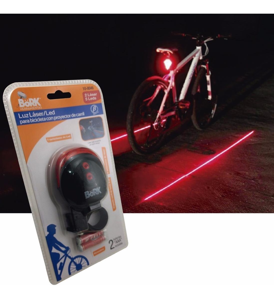 85d3bac57 Luz Laser Led Para Bicicleta Con Proyector De Carril - $ 159.00 en ...