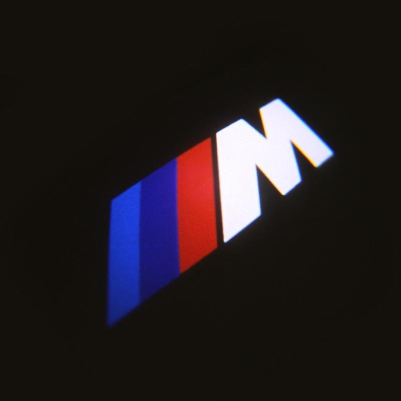 Luz Laser Led Proyector Logo Bmw M Sport Puertas Motomaniaco