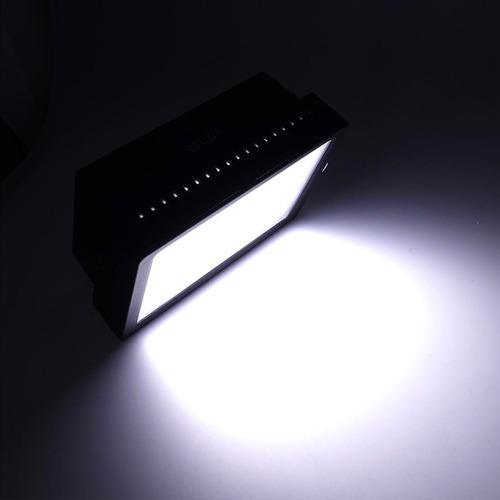 luz led 160 + bateria +cargador + tripode estudio foto video