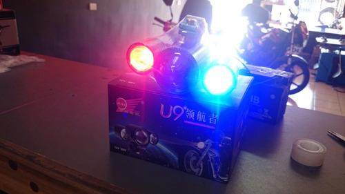 luz led 3 colores
