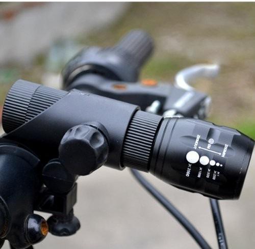 luz led alto brillo bicicleta 2016 moto linterna soporte