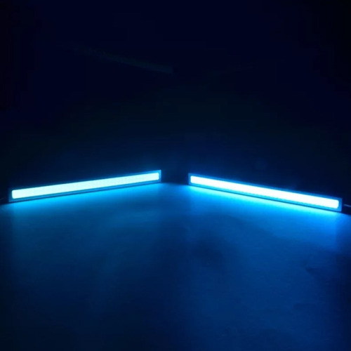 luz led automotivo day light 17cm farol milha tp xenon neon