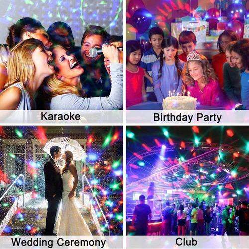 luz led bola disco dj fiesta discoteca karaoke bar lampara