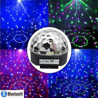 luz led bola mágica bares, karaokes, discotecas, fiestas