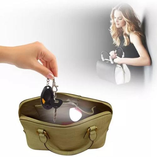 luz led cartera sensor movimiento recargable usb regalo