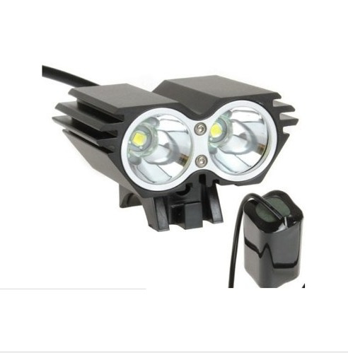 luz led ciclismo profesional- securityling 6000 lumenes!