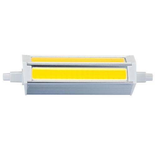 luz led cob hzt-8026 bombilla r7s 10w blanco calido