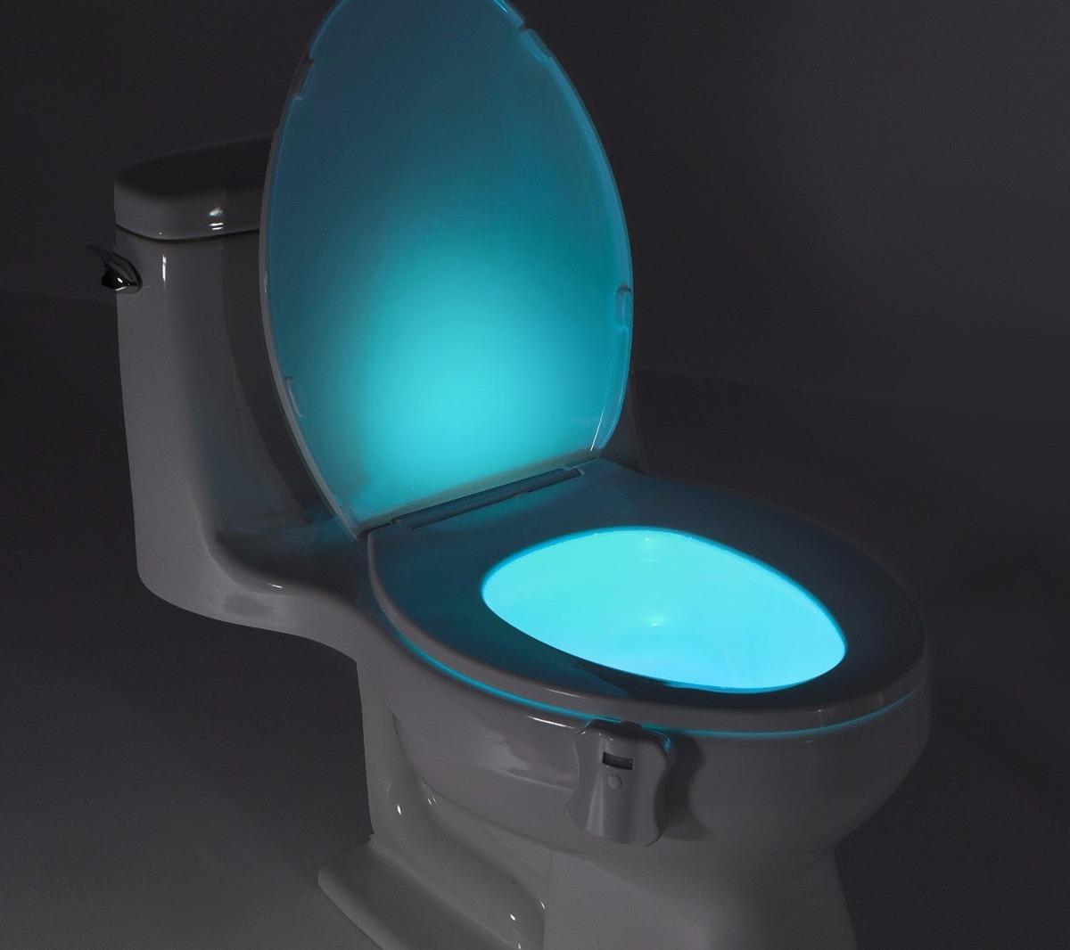Luz led colores inodoro o sanitario 8 colores - Sanitarios de colores ...