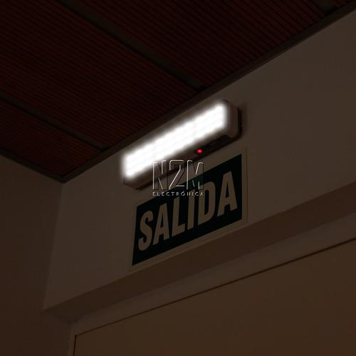 luz led de emergencia 60 led luces recargable 7 horas n2m