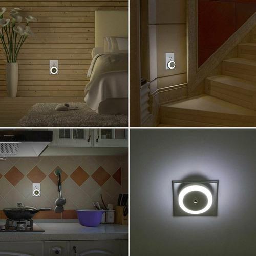 luz led de pared con sensor de iluminación automática