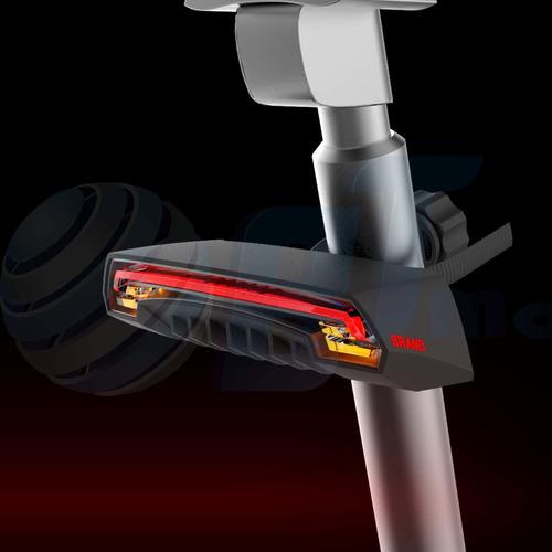 luz led direccionales bicicleta control remoto prueba agua