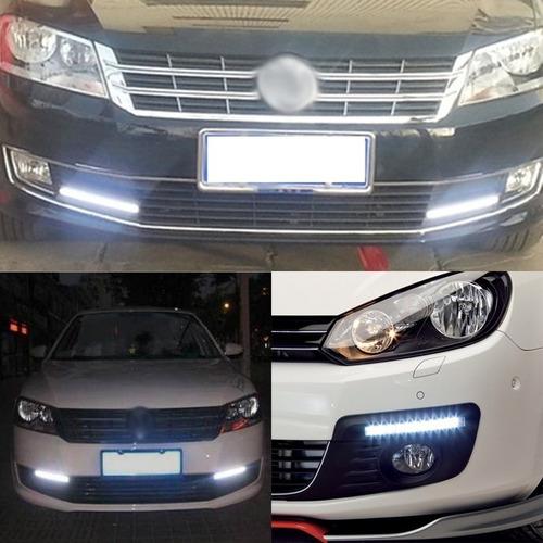 luz led diurna barra impermeable  para autos