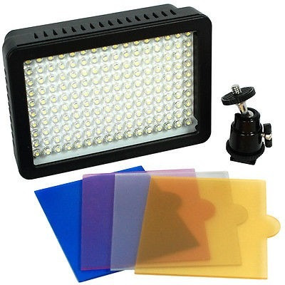 luz led lampara profesional video camara fotografia 160 leds
