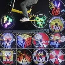 luz led llanta bicicleta 96 led