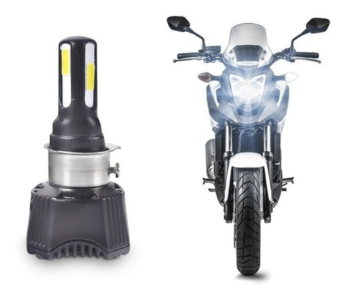 luz led moto