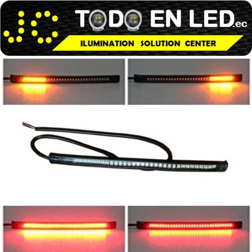 luz led moto con direccionales led - todoenled.ec