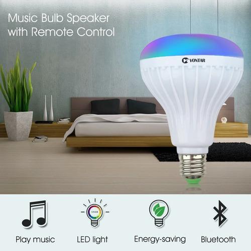 luz led music player sem fio bluetooth