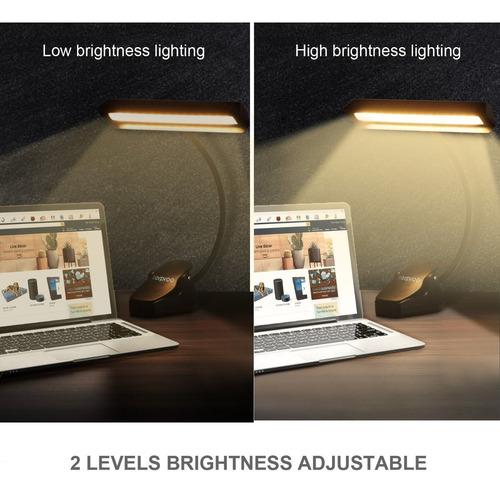 luz led para atril lectura piano con pila y recargable usb