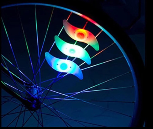 luz led para bicicleta 2 piezas