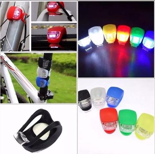 luz led para bicicleta de silicona