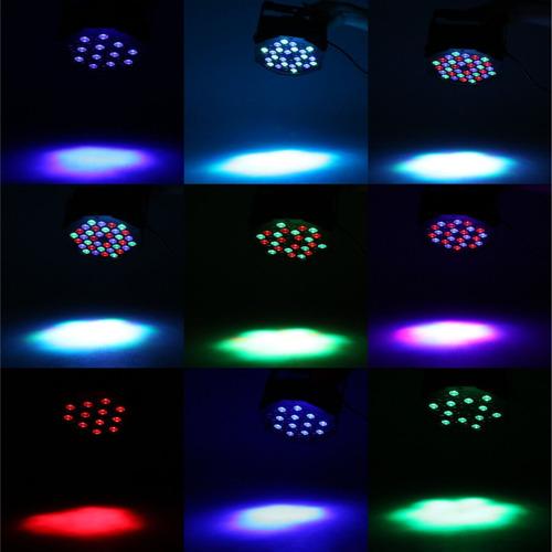 luz led para escenario por control remoto ir iluminacion.